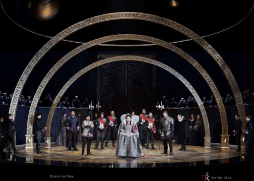 """Gloriana"" al Teatro Real di Madrid"