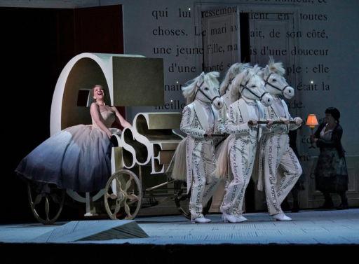 "New York, Metropolitan Opera: ""Cendrillon"""