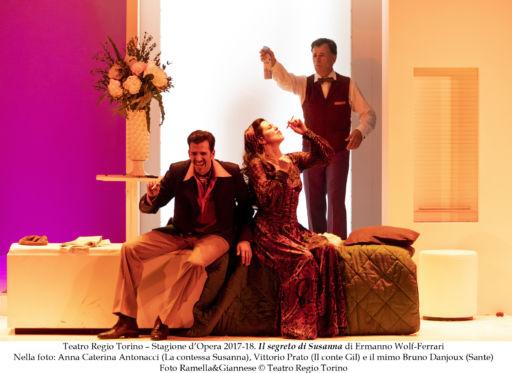 """Torino, Teatro Regio: """"Il segreto di Susanna"""" & """"La Voix humaine"""""""