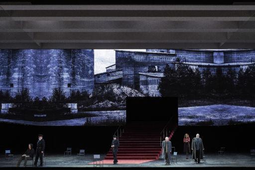 """Paris, Opéra Bastille:""""Boris Godounov"""""""