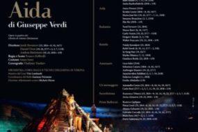 """""""Aida"""" è il secondo debutto del 96° Arena di Verona Opera Festival 2018, in scena dal 23 giugno all'1 settembre"""