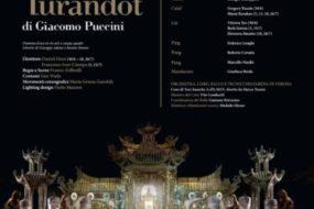 """""""Turandot"""" è il terzo debutto del 96° Arena di Verona Opera Festival 2018 – in scena dal 30 giugno al 26 luglio"""