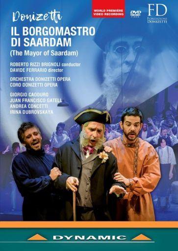 """Gaetano Donizetti (1797 – 1848): """"Il borgomastro di Saardam"""" (1828)"""
