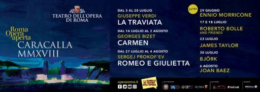 """""""La traviata"""", dal 3 luglio a Caracalla,  prima opera della stagione estiva dell'Opera di Roma"""