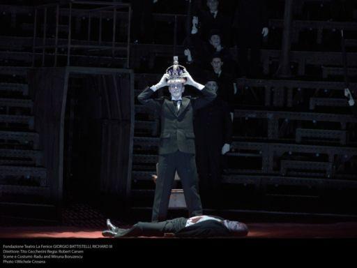 """Venezia, Teatro La Fenice: prima italiana per """"Richard III"""" di Battistelli"""