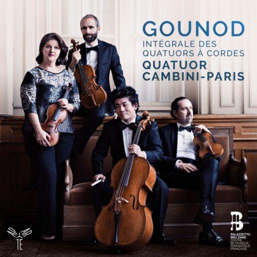 Charles Gounod 200: Intégrale des Quatuors à Cordes