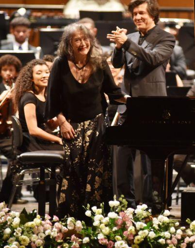 Verona, Teatro Filarmonico, Il Settembre dell'Accademia 2018: Martha Argerich & Youth Orchestra of Bahia