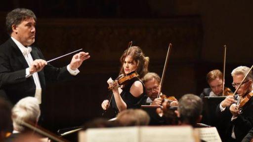 Verona, Teatro Filarmonico, Il Settembre dell'Accademia 2018: Lisa Batiashvili & Staatskapelle Dredenatsa