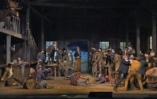 """New York, Metropolitan Opera: """"La fanciulla del west"""""""