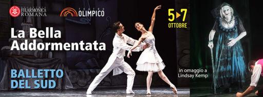 La Bella addormentata del Balletto del Sud al Teatro Olimpico di Roma dal 5 al 7 ottobre