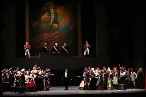 "Catania, Teatro Massimo Bellini: ""Andrea Chénier"""