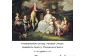 """,,Io, la regina"""". Maria Carolina fra storia e arti (Vienna, 21 e 22 novembre 2018)"""