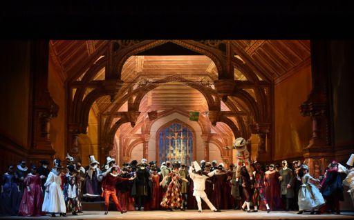 """Parma, Teatro Regio: """"Un ballo in maschera"""""""