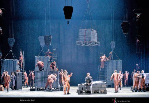 """Das Rheingold"" al Teatro Real di Madrid"