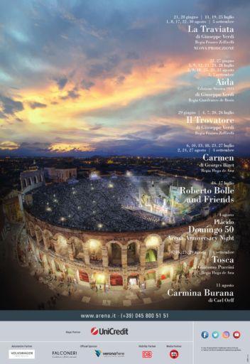 97° Arena di Verona Opera Festival 2019